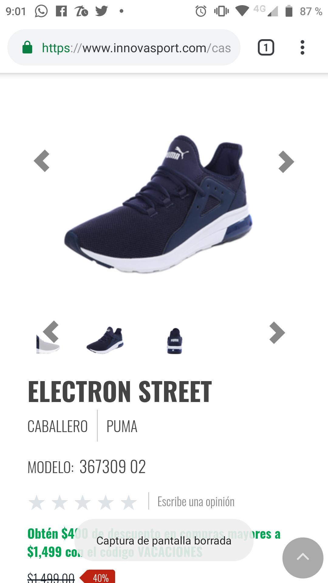 Innovasport: Tennis puma Electron Street