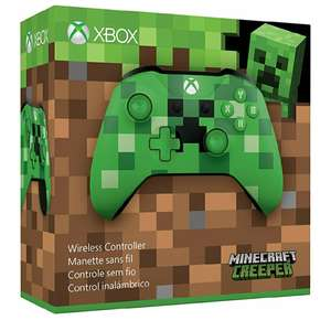 Amazon: Control Inalámbrico XBox One Minecraft Creeper - Special Limited Edition
