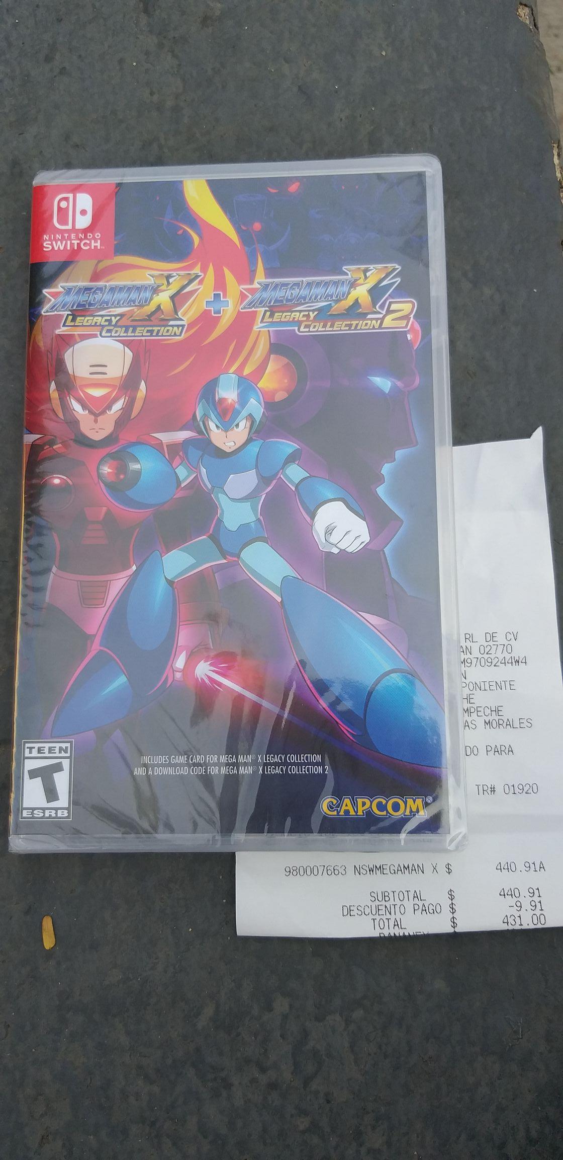 Sam's Club Cd del Carmen: Megaman X Legacy Collection