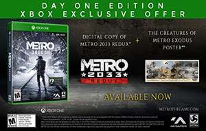 Amazon USA: Metro Exodus Day One Edition para Xbox One