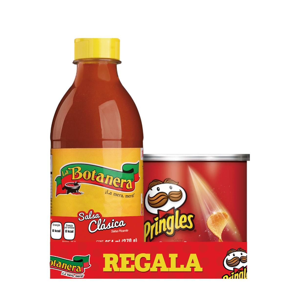 Chedraui en línea: Salsa La Botanera 370Gr + Pringles 40 G