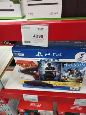 Sam's Club: Consola Ps4 Hits