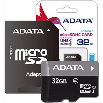 Linio: Memoria SD ADATA 32GB clase 10 + adaptador