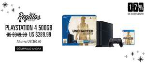 Black Friday en eBay: PS4 UNCHARTED a $290 USD + envío + impuestos