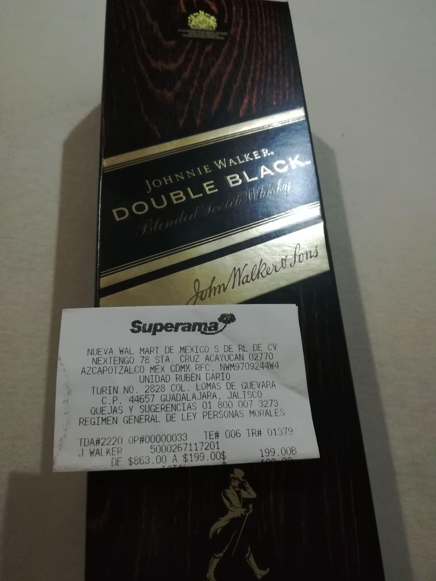 Superama: Johnny Walker Double Black
