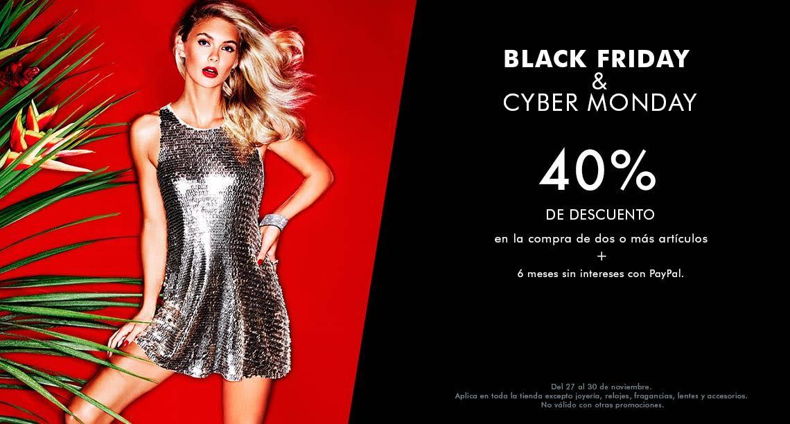 Black Friday en Guess: 40% de descuento comprando 2 artículos