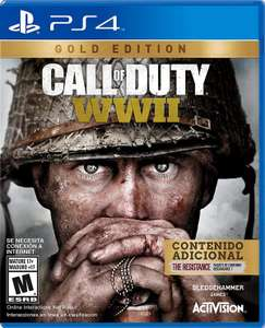 HEB: Videojuego Ps4 Call Of Duty Wwii Gold Edition Mx