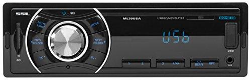 Black Friday en Amazon: Sound Storm Laboratories ML39USA Soundstorm Digital Media Receiver FM ONLY!! Front Aux USB/SD