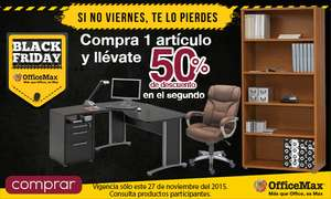 Black Friday en OfficeMax: bocinas de regalo con compra mínima y más