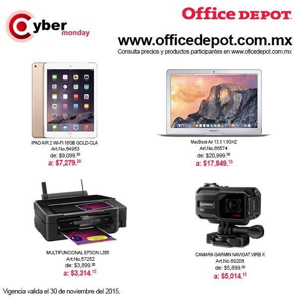 Ofertas de Black Friday en Office Depot (extendido Cyber Monday)