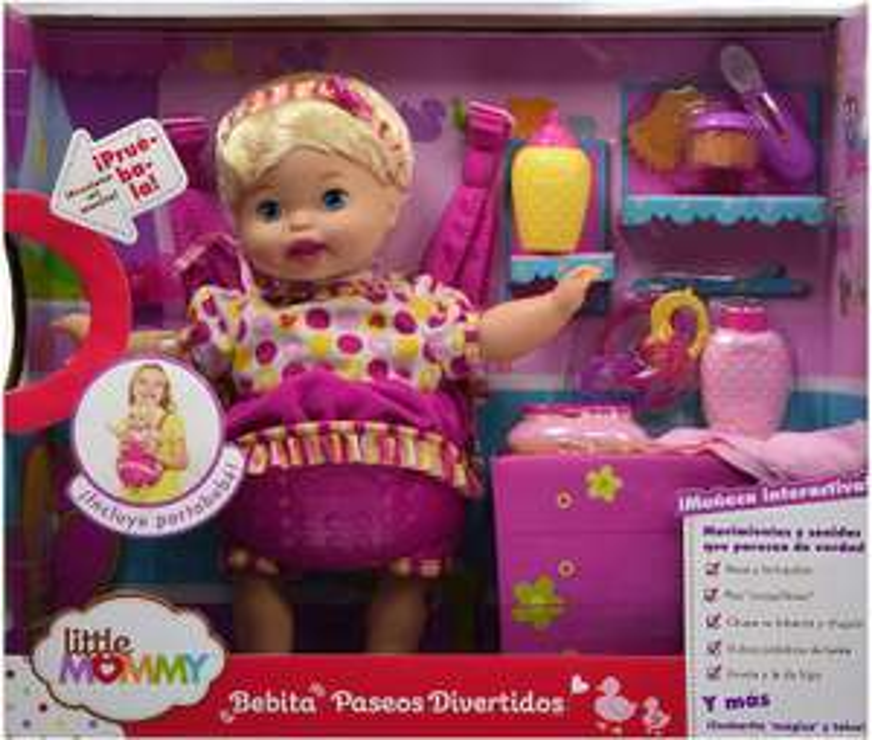 Amazon: little mommy paseos divertidos
