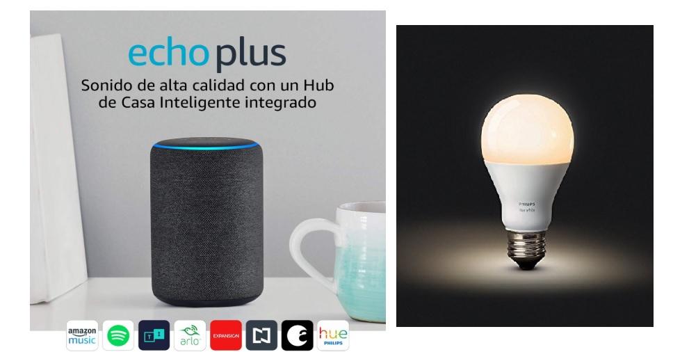 Amazon: Echo Plus + Foco Philips