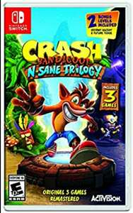 Amazon: Crash Bandicoot N. Sane Trilogy - Nintendo Switch vendido por Amazon