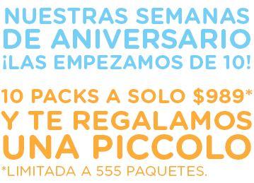 Cafetera Dolce Gusto Piccolo gratis comprando 10 packs