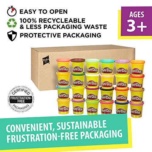 Amazon: Play -Doh paquete de 24 diferentes colores 3 onzas