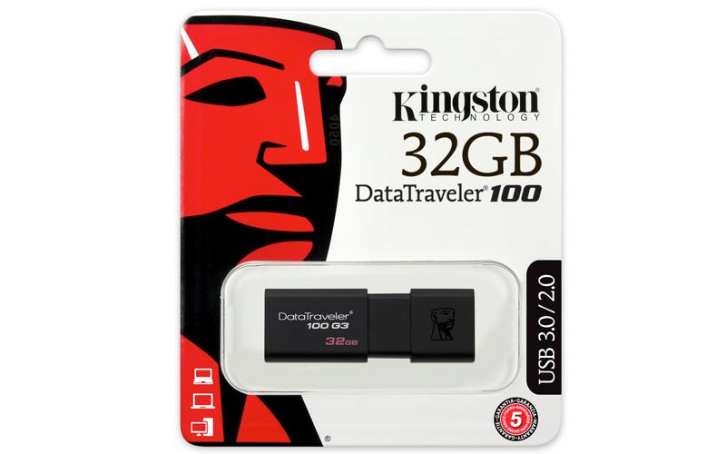Black friday en Amazon MX: USB kingston DT100 G3 de 32 Gb en $142