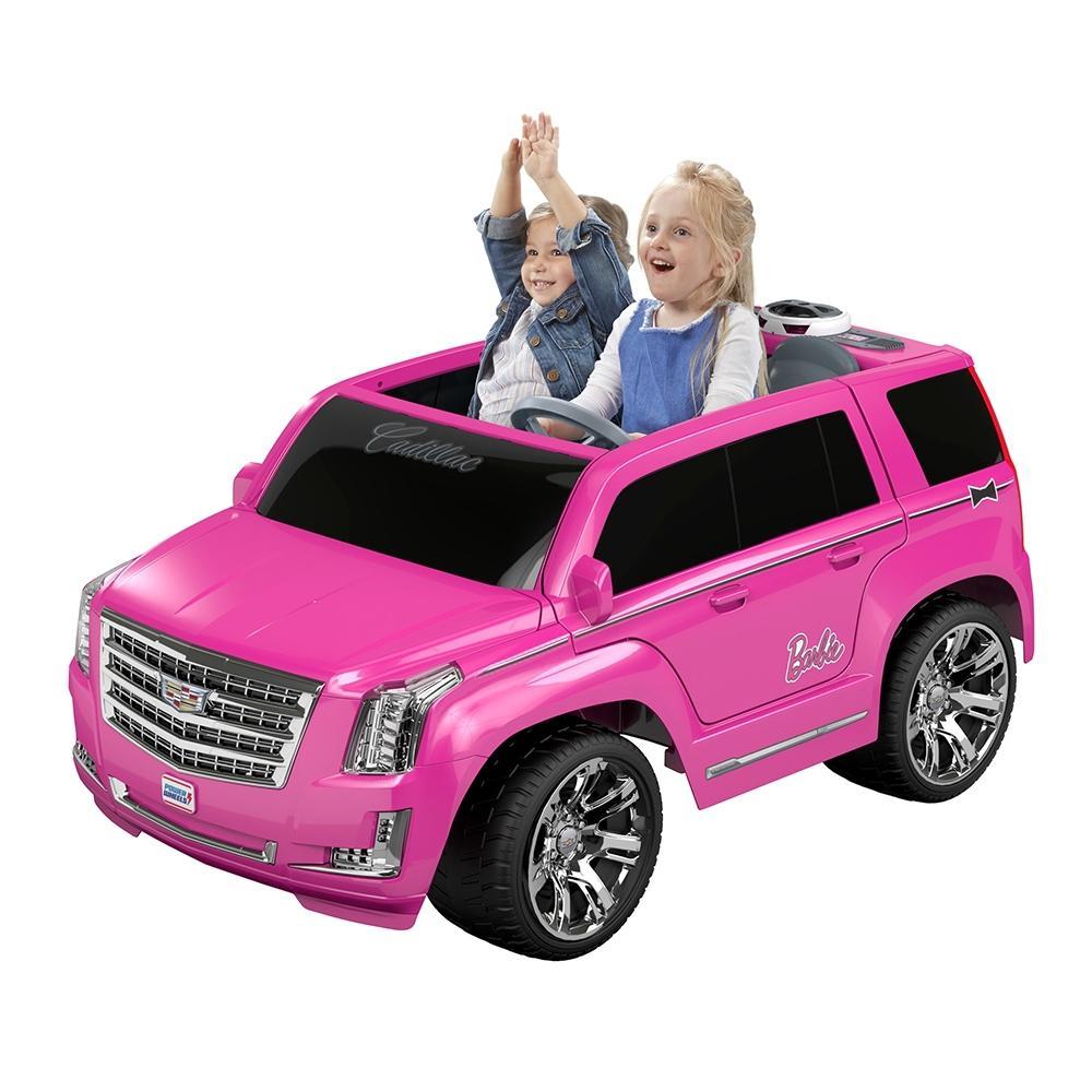 Walmart: Montable Eléctrico Power Wheels Barbie Cadillac Escalade
