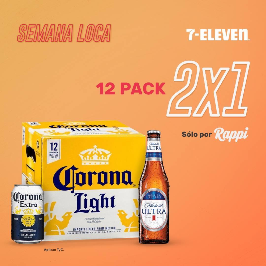 Rappi 24 latas de cerveza Corona por $58 pagando con PayPal