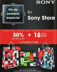 Promociones de Black Friday en Sony Store, Claro-Shop, MacStore