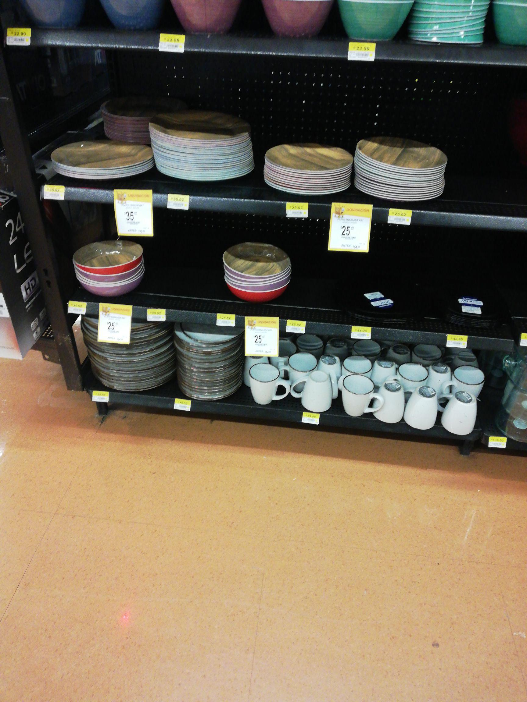 Walmart: Plato ensalada