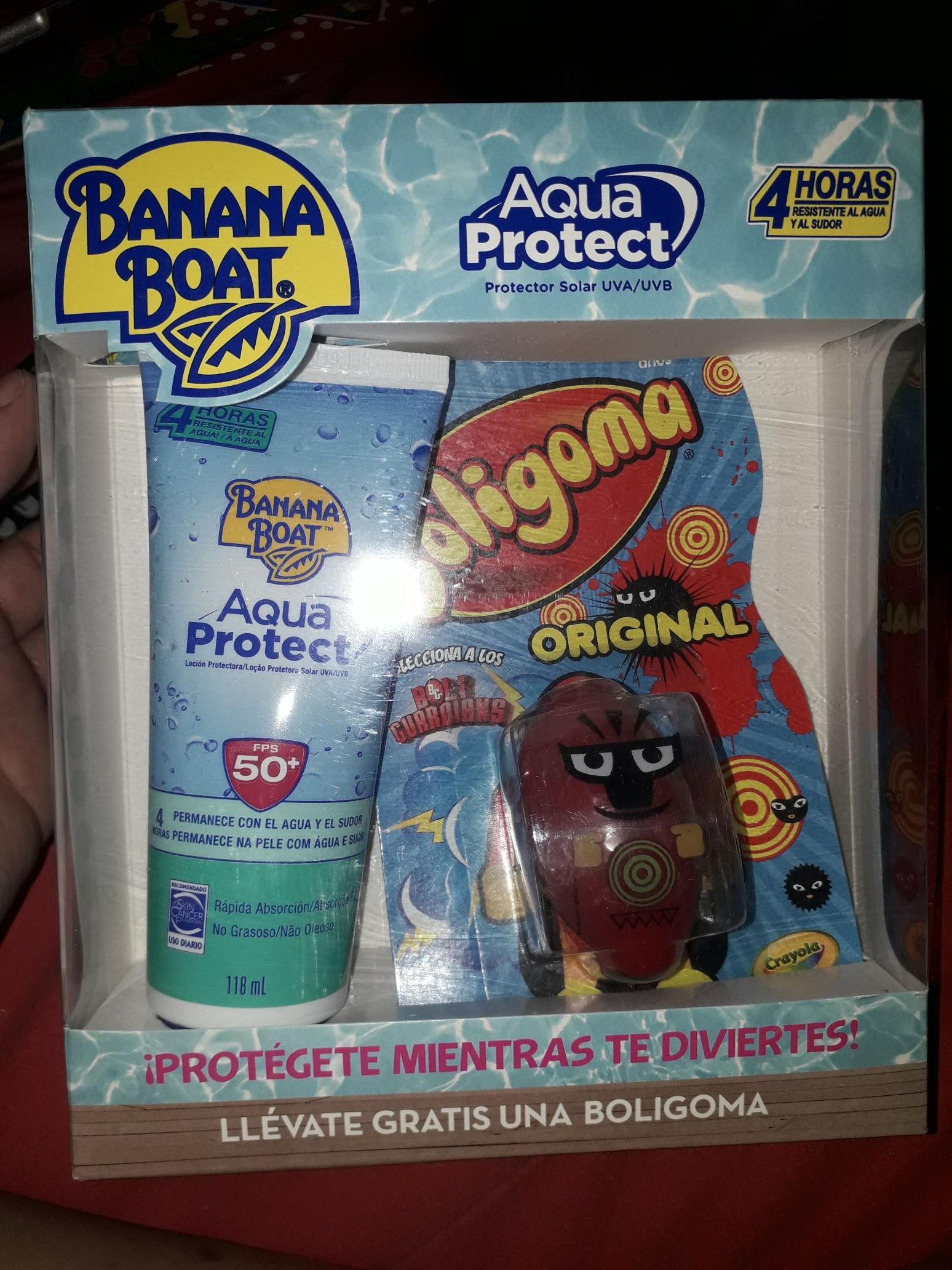 Walmart: protector solar Banana Boat 40.02