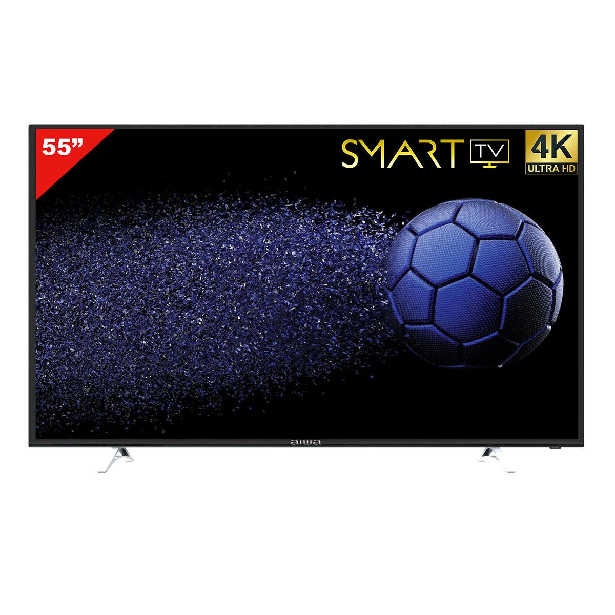 """Chedraui: pantalla Aiwa 4k smart tv 55"""""""