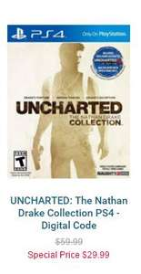 Cdkeys: UNCHARTED: The Nathan Drake Collection PS4 - Código Digital