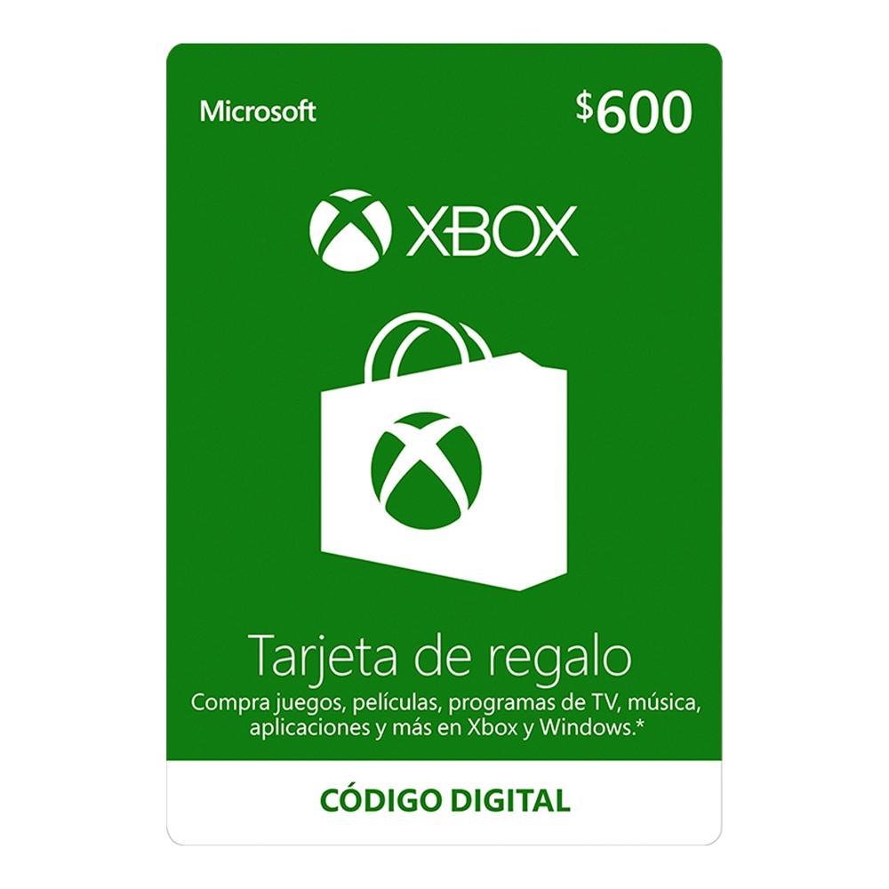 Walmart: Tarjeta de Regalo $600 Xbox