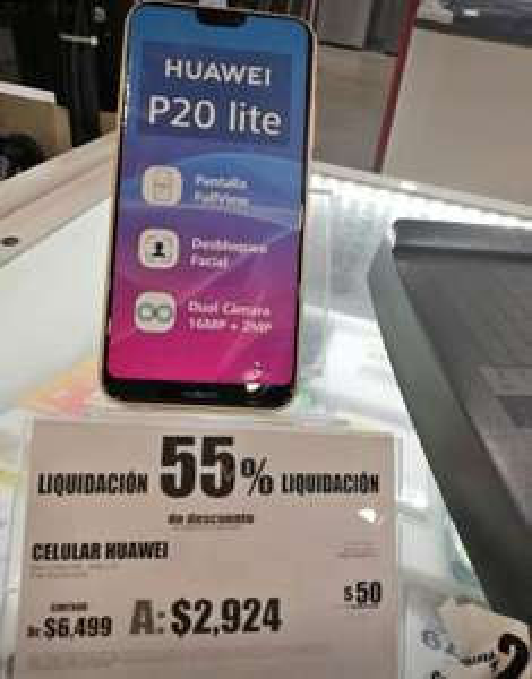 Elektra: Huawei p20 Lite en remate
