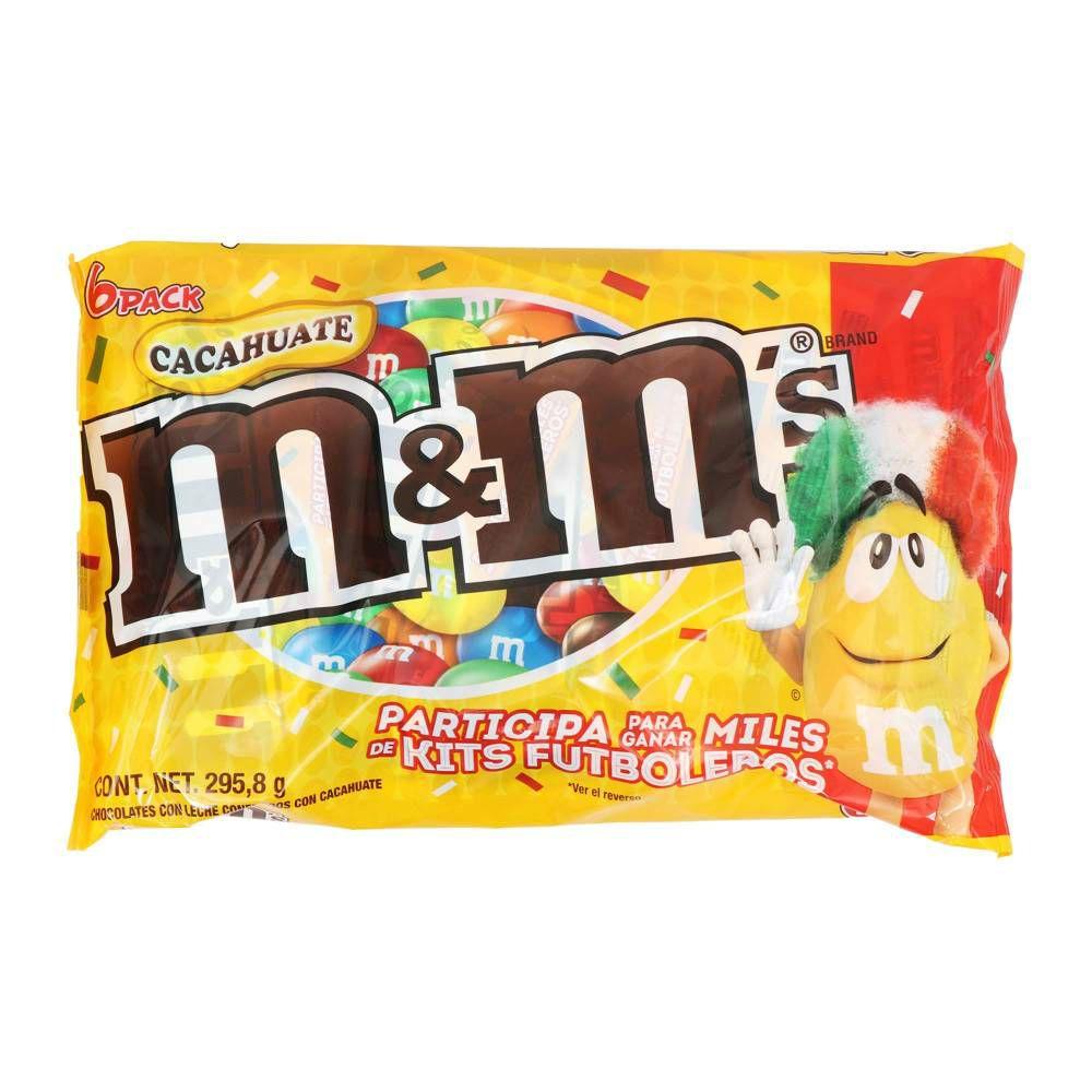 Sam's club:Chocolate M&M's Peanut 6 piezas en $69 o 2 bolsas por $99