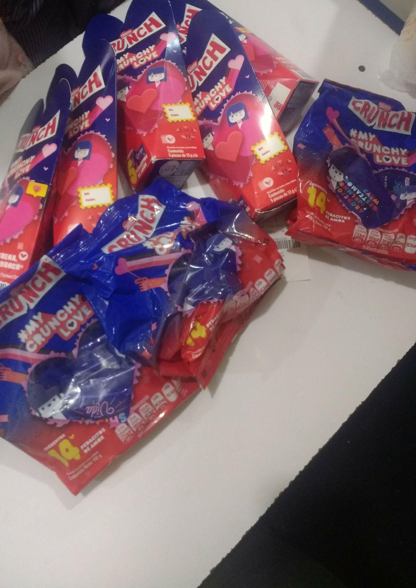 Bodega Aurrera: Chocolates Crunch