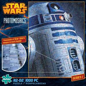 Amazon Mx: Star Wars rompecabezas R2-D2 Photomosaic 1000 piezas 68x50cm