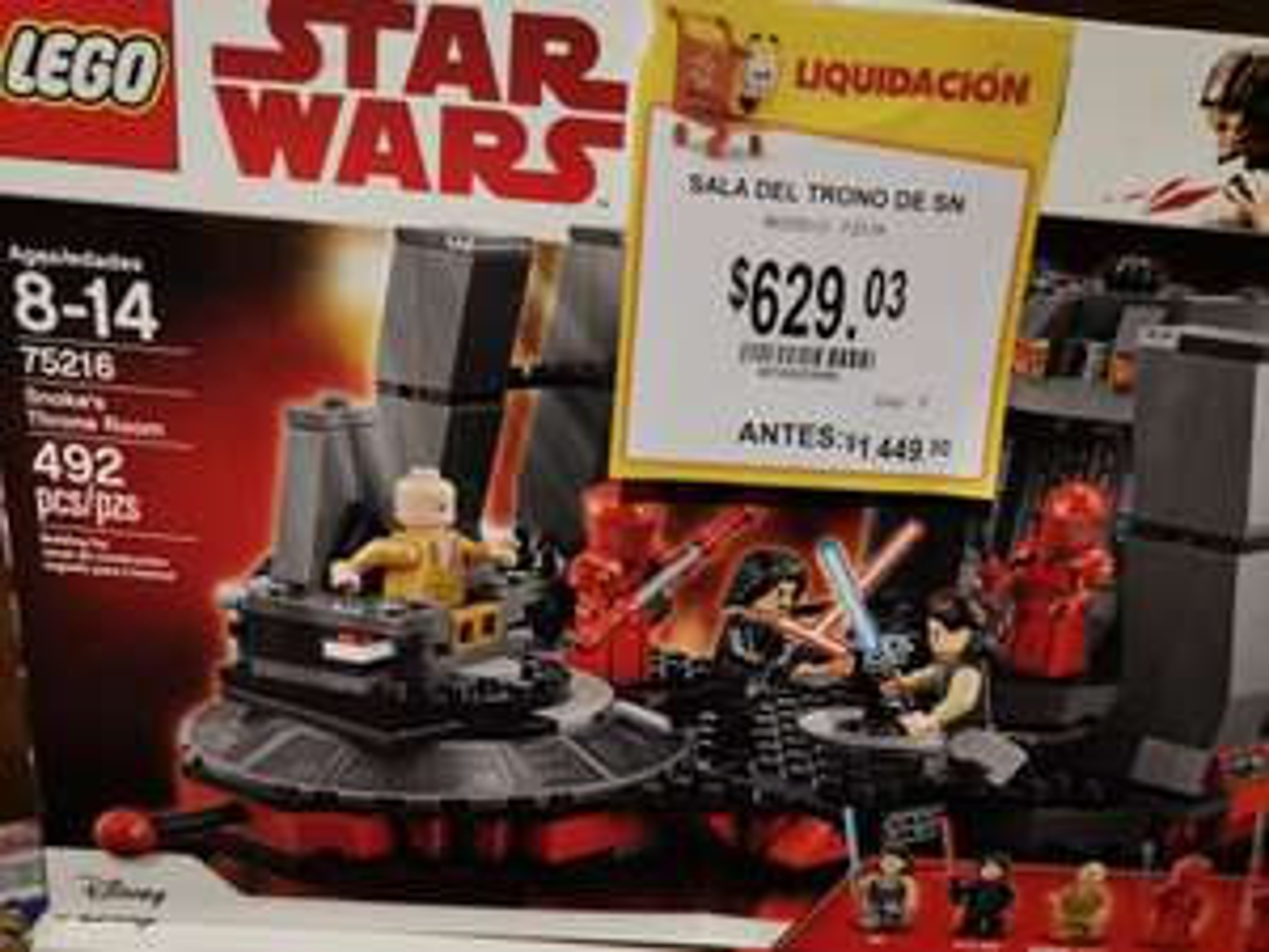 Walmart Lomas Lego Star Wars