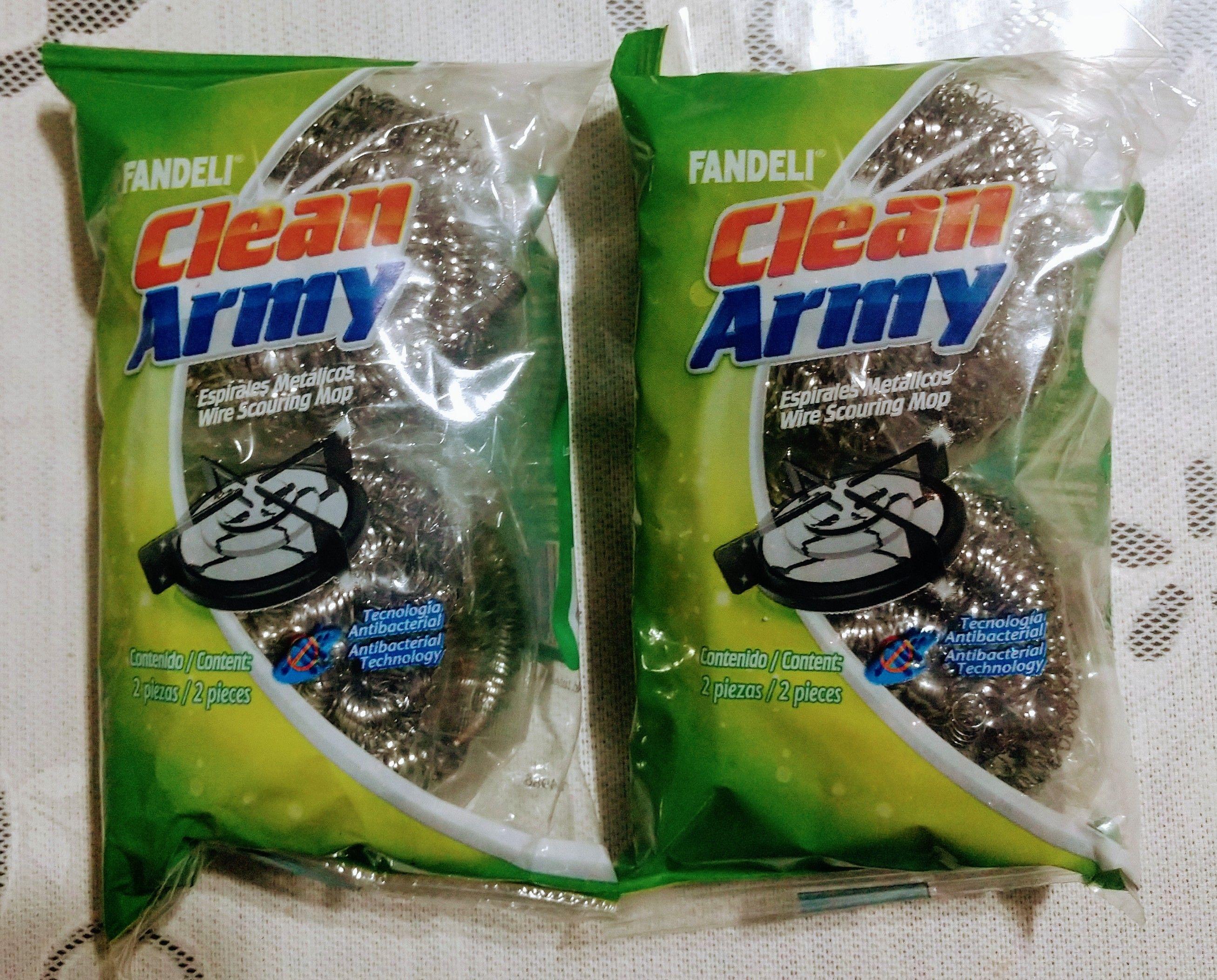 Bodega Aurrerá: Fibras Metálicas Clean Army