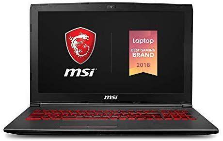 "Amazon MX: Laptop para Videojuegos MSI GV62 8RD-275, 15.6"", Intel Core i5-8300H, 8 GB RAM, 256 GB SSD (Vendido por Amazon USA)"