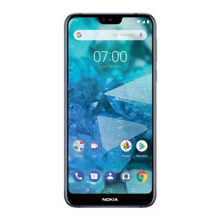 Sam's Club: Smartphone Nokia 7.1 Azul Telcel