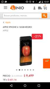 Linio IPhone 6 16 gb