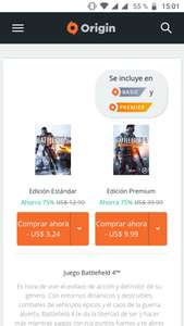 Origin: Battlefield 4 para PC