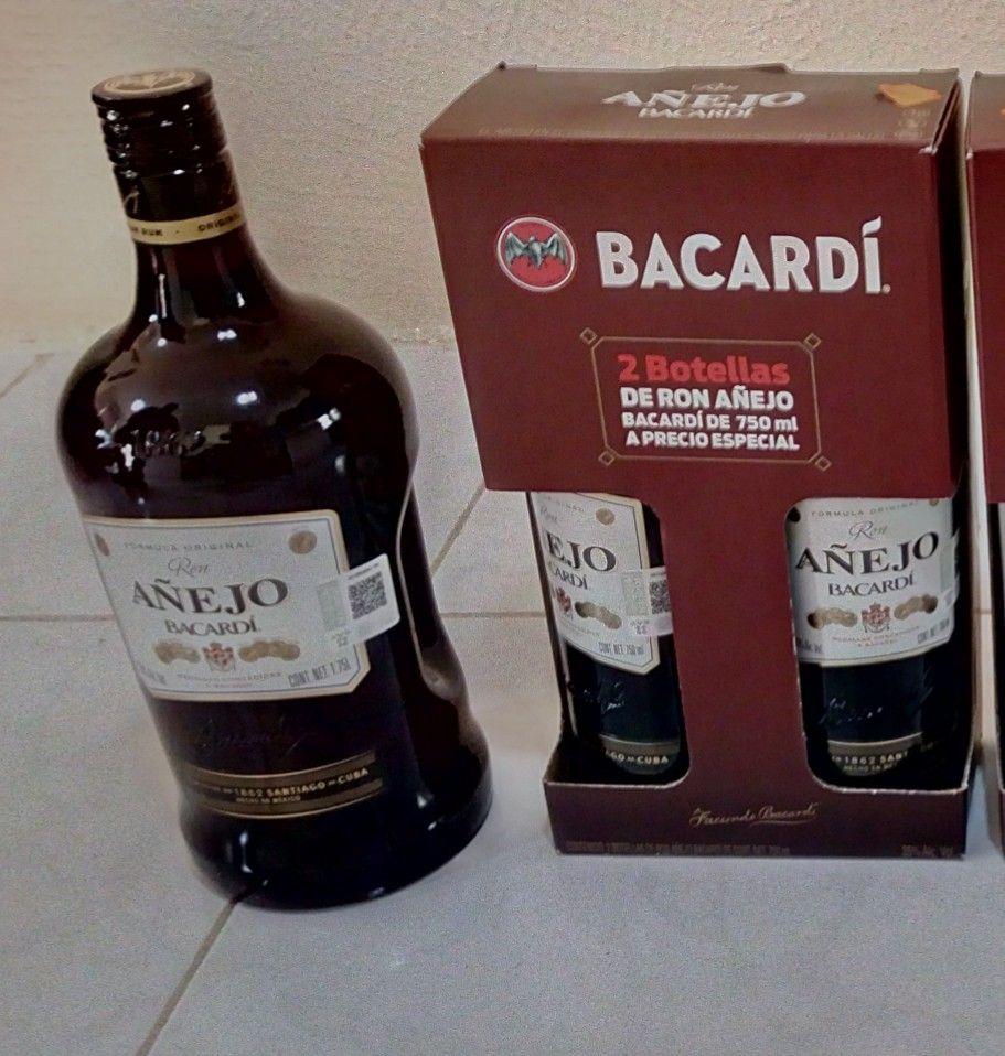 Bodega Aurrera Barcardi añejo 1.75 Lt