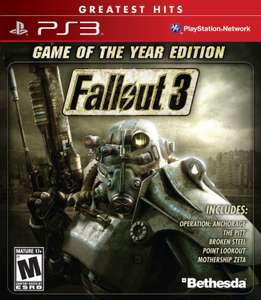 Amazon MX: Fallout 3 GOTY Edition + DLCs PS3