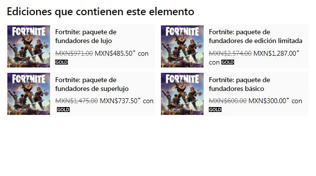 """Microsoft Store: Fortnite """"Salva el mundo"""" 50% de descuento"""