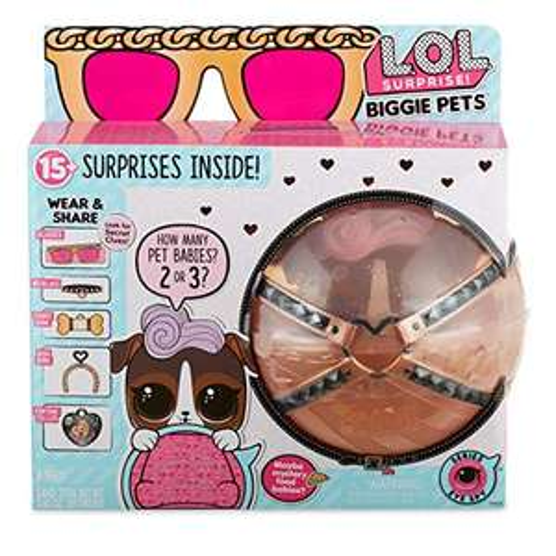 Amazon MX: L.O.L. Surprise! Biggie Pet- Dog (Vendido por Amazon USA)