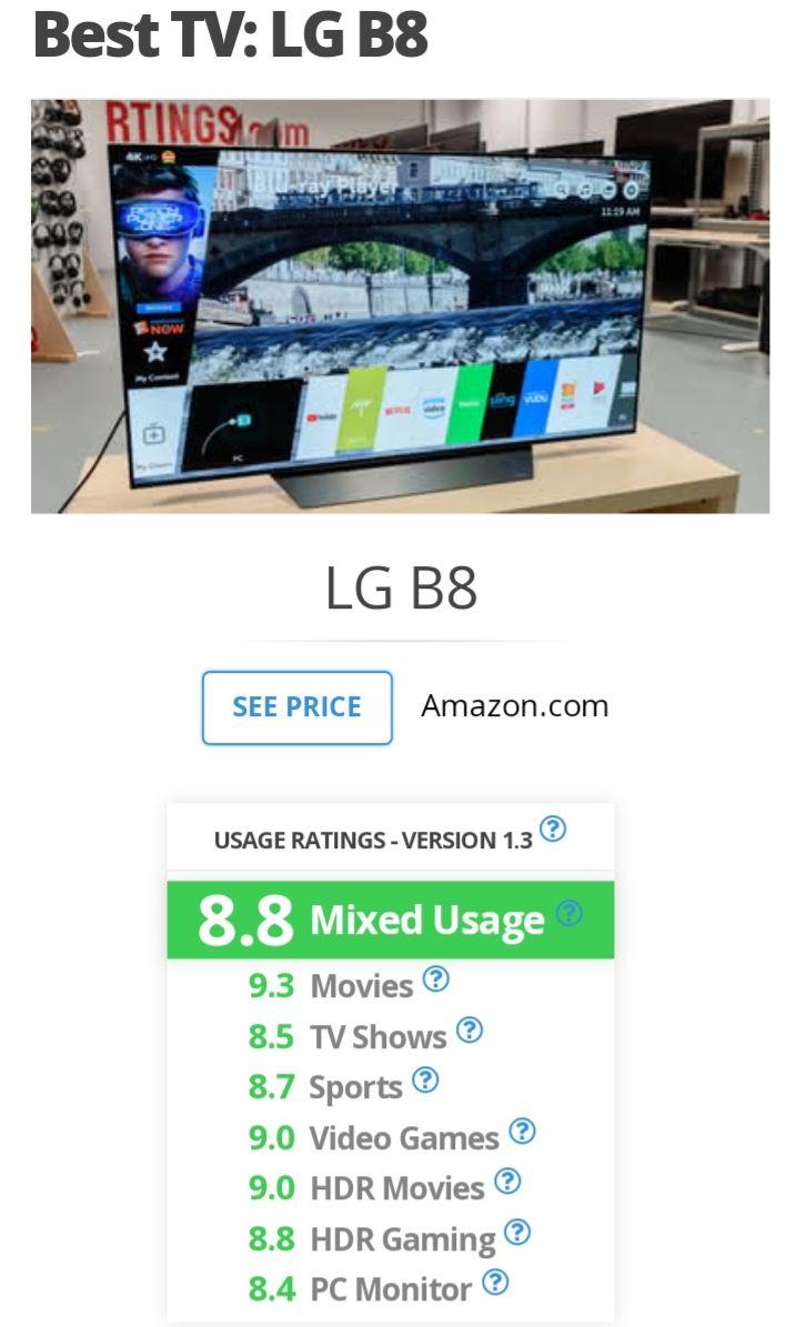 Sam's Club: Pantalla LG 55 Pulgadas Smart TV OLED