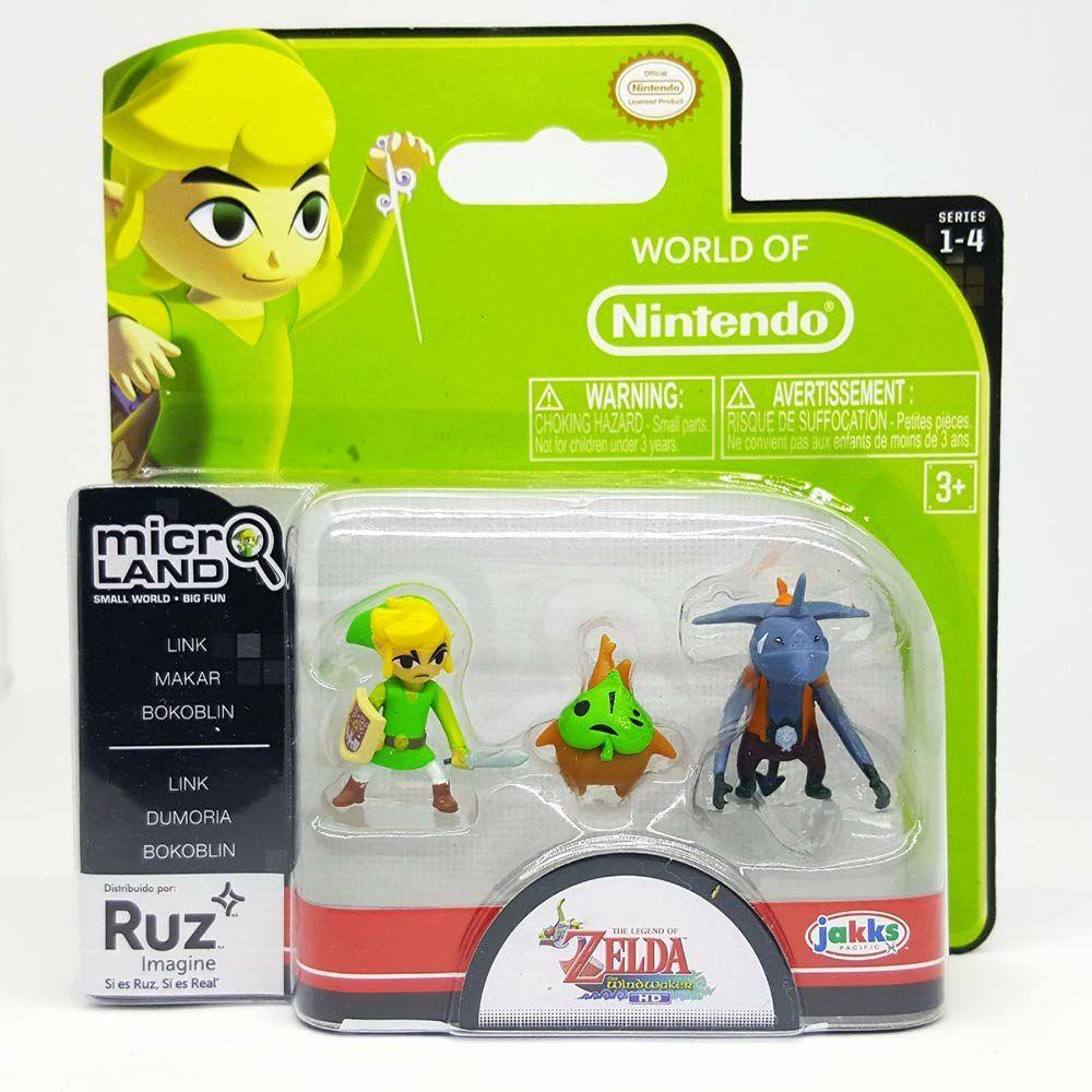 Amazon MX: Nintendo Figura Link, Makar y Bokoblin,3 Pack y más