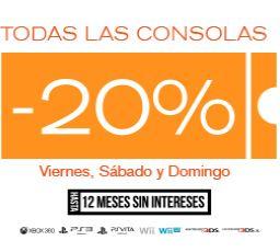 Game Rush: 20% de descuento en todas las consolas y promoción de juegos (PS Vita $3,199)