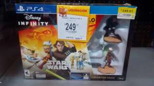 Walmart: Disney Infinity 3.0 Star Wars para PS4 a $249.01