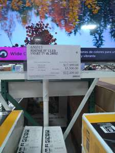 Costco Xalapa: Smart TV Hisense 55H9E Uled 4K