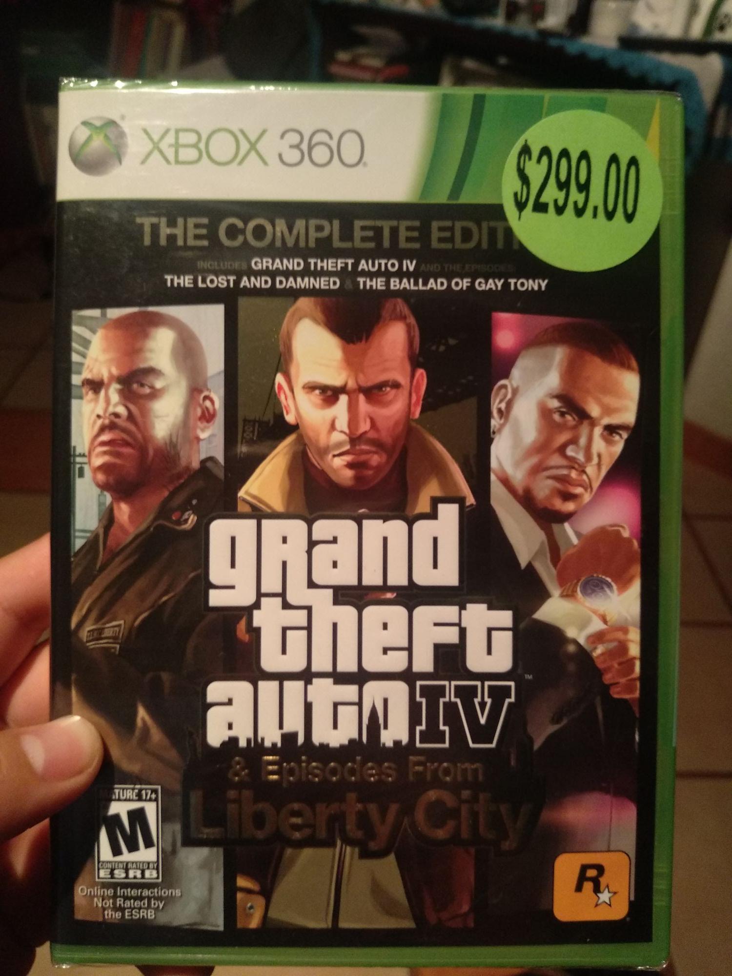 Walmart: Grand Theft Auto IV
