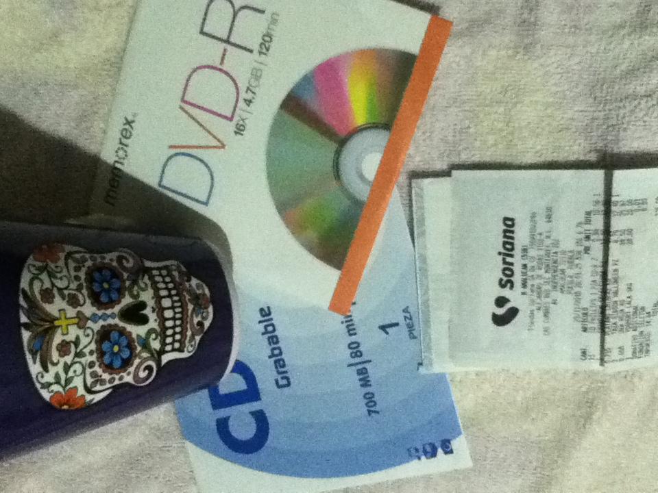 Soriana: cd's y dvd's en $0.96