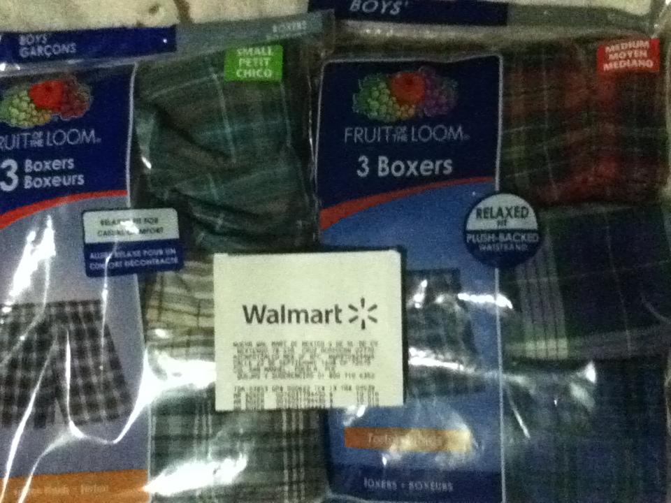 Walmart: Boxer para niño a $10.01